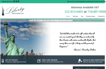 Liberty Employment Law – New York s Premier Employment Attorneys