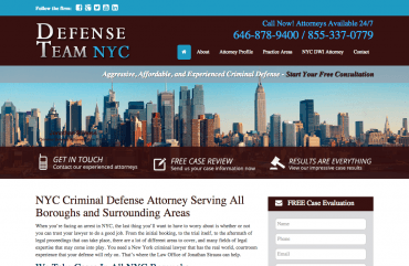 New York City Criminal Defense Attorney  Manhattan  Bronx