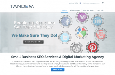 Small Business Internet Marketing and SEO Services CompanyTandem Web Group